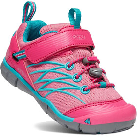 Keen Chandler CNX Shoes Children Bright Pink/Lake Green